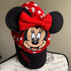 Disney Parks Minnie Mouse Ball Cap Toddler OS